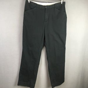Columbia Pants Size 14 Black Women Casual Straight